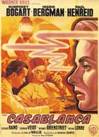 Casablanca - 27 x 40 Movie Poster - French Style E