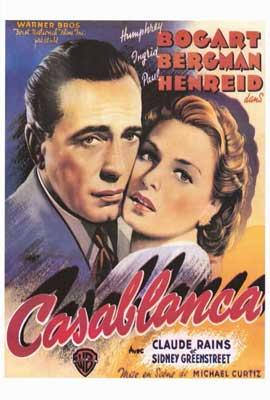 Casablanca - 11 x 17 Movie Poster - Style B
