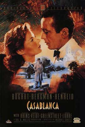 Casablanca - 11 x 17 Movie Poster - Style S