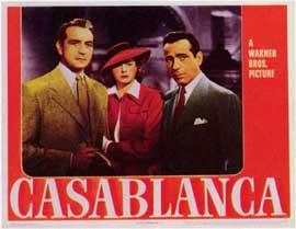 Casablanca - 11 x 14 Movie Poster - Style C