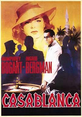 Casablanca - 11 x 17 Movie Poster - Italian Style A