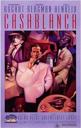 Casablanca - 11 x 17 Movie Poster - Style R