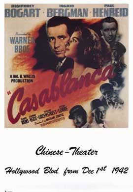 Casablanca - 11 x 17 Movie Poster - Style P