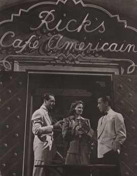 Casablanca - 11 x 17 Movie Poster - Style Q