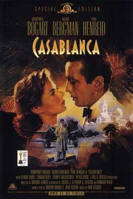Casablanca - 11 x 17 Movie Poster - Style C