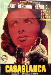 Casablanca - 11 x 17 Movie Poster - Spanish Style A