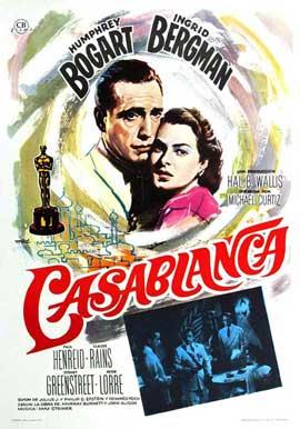 Casablanca - 11 x 17 Movie Poster - Style N