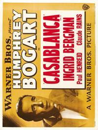 Casablanca - 27 x 40 Movie Poster - Style H