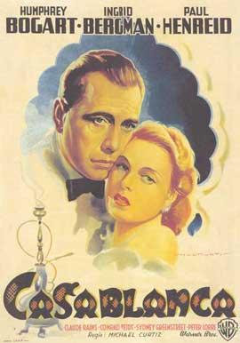Casablanca - 27 x 40 Movie Poster - Italian Style D
