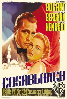 Casablanca - 27 x 40 Movie Poster - Italian Style C