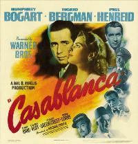 Casablanca - 30 x 30 Movie Poster - Style A