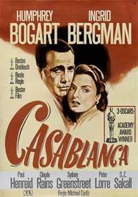 Casablanca - 11 x 17 Movie Poster - German Style B