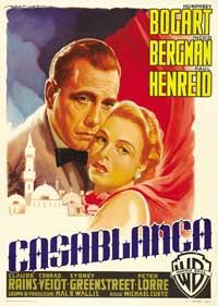Casablanca - 43 x 62 Movie Poster - Italian Style B