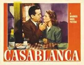 Casablanca - 11 x 14 Movie Poster - Style N