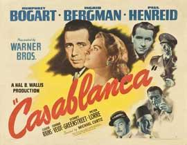 Casablanca - 22 x 28 Movie Poster - Half Sheet Style A