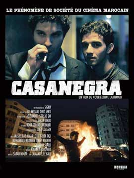 Casanegra - 11 x 17 Movie Poster - French Style A