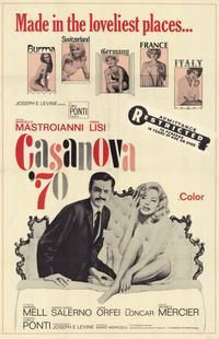 Casanova '70 - 11 x 17 Movie Poster - Style A
