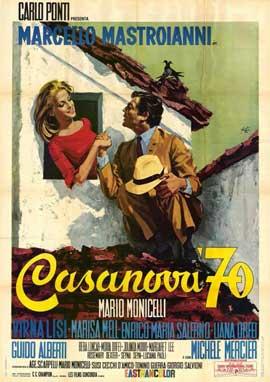 Casanova '70 - 11 x 17 Movie Poster - Italian Style A