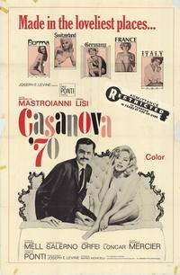 Casanova '70 - 27 x 40 Movie Poster - Style A