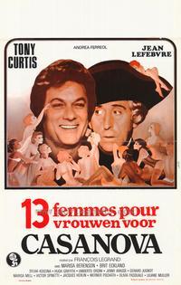 Casanova & Co. - 11 x 17 Movie Poster - Belgian Style A