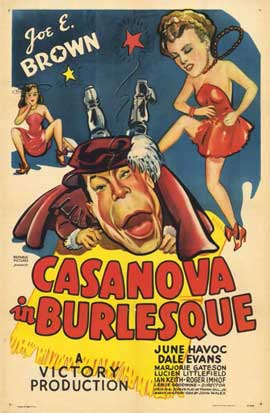 Casanova in Burlesque - 11 x 17 Movie Poster - Style A