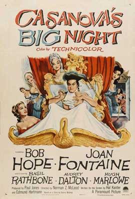 Casanova's Big Night - 11 x 17 Movie Poster - Style A