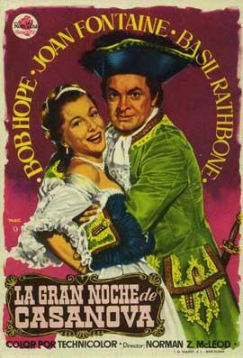 Casanova's Big Night - 11 x 17 Movie Poster - Belgian Style A