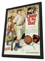 Casey at the Bat - 11 x 17 Movie Poster - Style A - in Deluxe Wood Frame