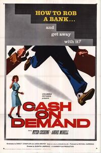 Cash on Demand - 27 x 40 Movie Poster - Style A