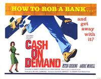 Cash on Demand - 27 x 40 Movie Poster - Style B
