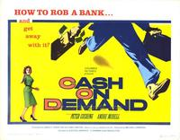 Cash on Demand - 27 x 40 Movie Poster - Style C