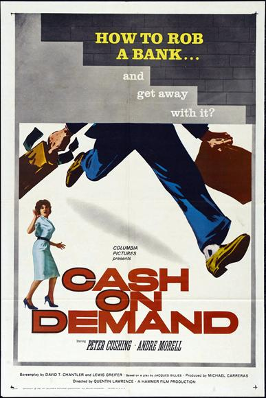 Cash on Demand Movie Posters From Movie Poster Shop