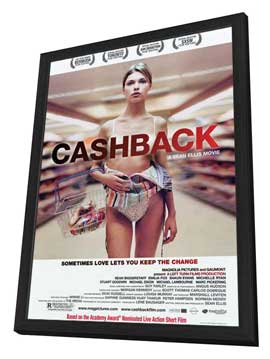 Cashback - 27 x 40 Movie Poster - Style A - in Deluxe Wood Frame
