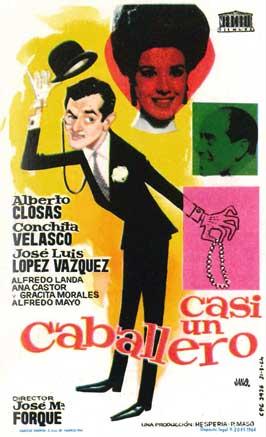Casi un caballero - 11 x 17 Movie Poster - Spanish Style A