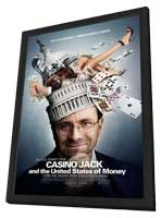 Casino Jack and the United States of Money - 11 x 17 Movie Poster - Style A - in Deluxe Wood Frame