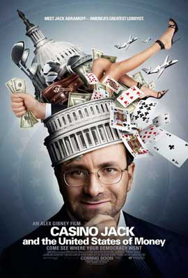 Casino Jack and the United States of Money - 11 x 17 Movie Poster - Style A