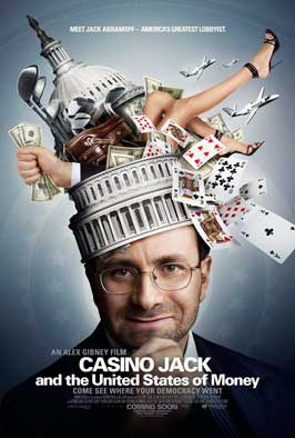 Casino Jack and the United States of Money - 43 x 62 Movie Poster - Bus Shelter Style A