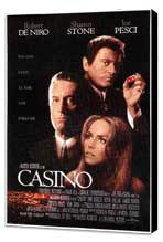 Casino - 11 x 17 Movie Poster - Style A - Museum Wrapped Canvas