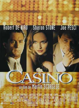 Casino - 11 x 17 Movie Poster - French Style A
