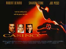Casino - 30 x 40 Movie Poster UK - Style A