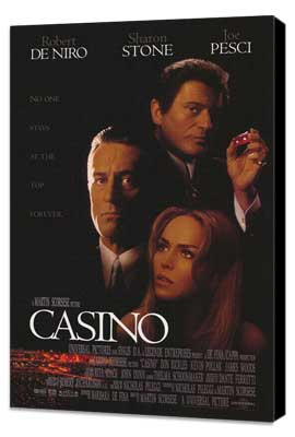 Casino - 27 x 40 Movie Poster - Style A - Museum Wrapped Canvas