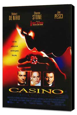 Casino - 27 x 40 Movie Poster - Style B - Museum Wrapped Canvas