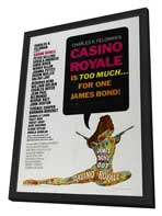 Casino Royale - 27 x 40 Movie Poster - Style A - in Deluxe Wood Frame