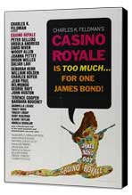 Casino Royale - 27 x 40 Movie Poster - Style A - Museum Wrapped Canvas