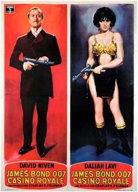 Casino Royale - 11 x 17 Movie Poster - Italian Style C