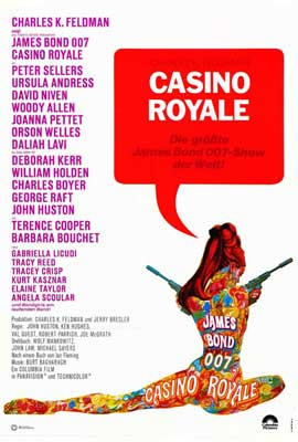 Casino Royale - 11 x 17 Movie Poster - German Style A