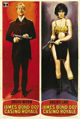 Casino Royale - 27 x 40 Movie Poster - Italian Style A