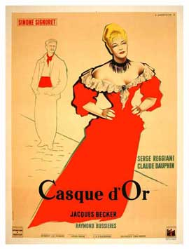 Casque d'Or - 11 x 17 Movie Poster - French Style A