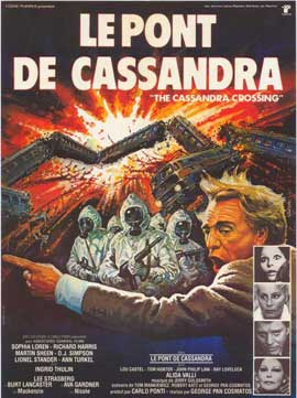 The Cassandra Crossing - 27 x 40 Movie Poster - French Style A