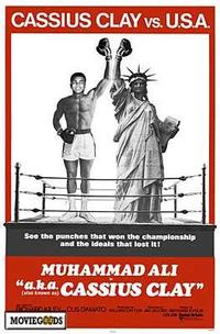 Cassius Clay vs. USA - 27 x 40 Movie Poster - Style A